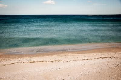 Broken down rocks... beach stories