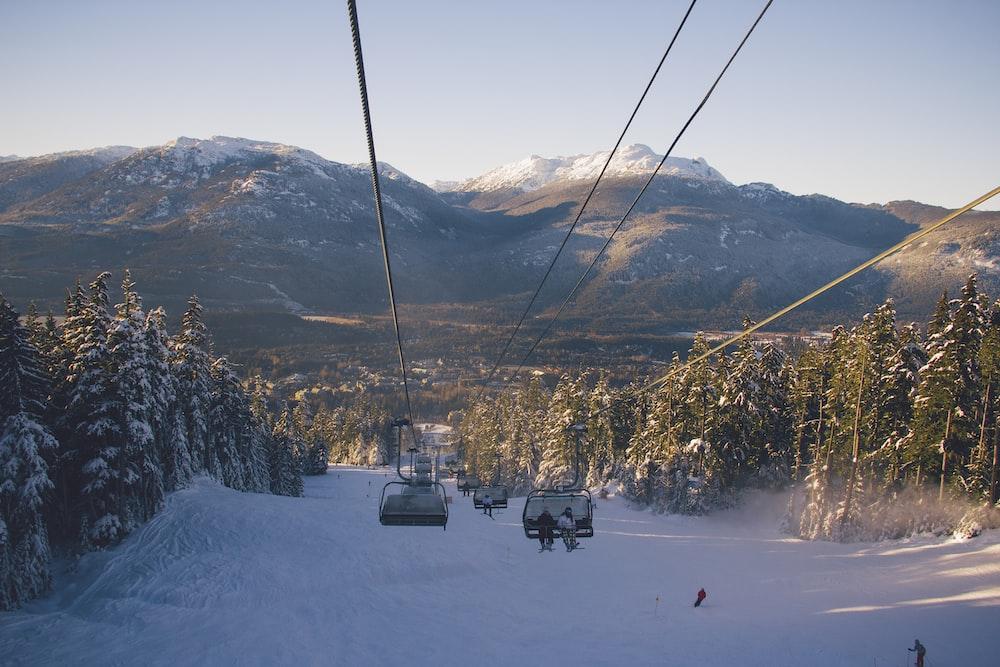 zip line in-front mountain