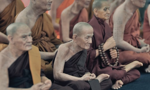 buddhist pickup line