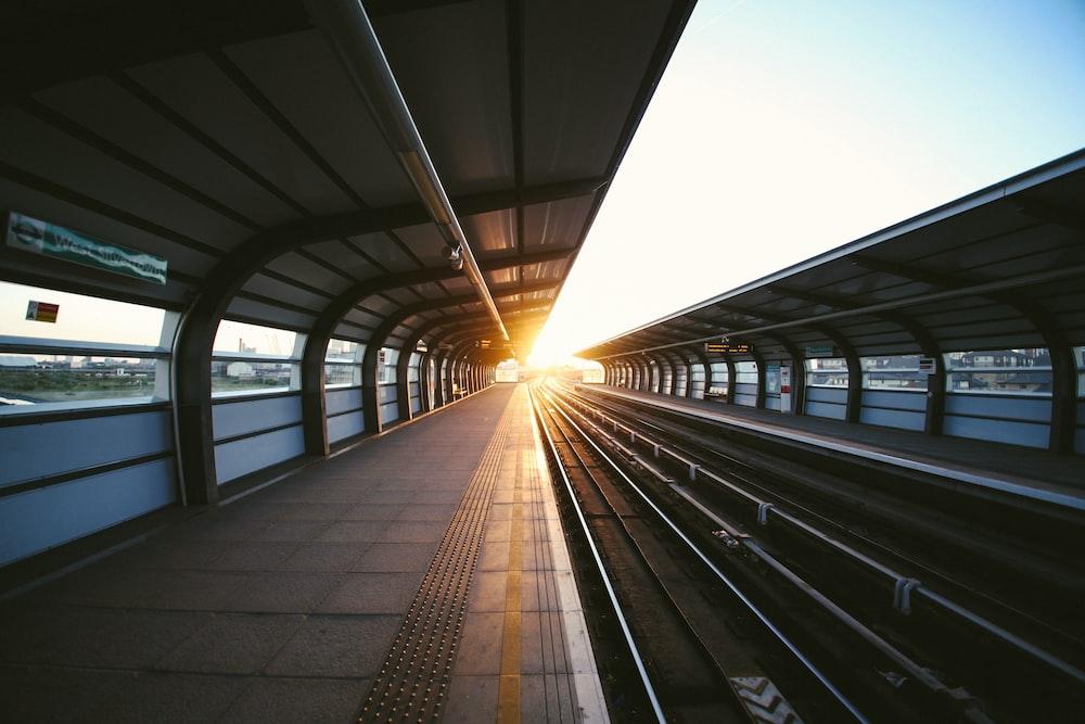 photo of train station